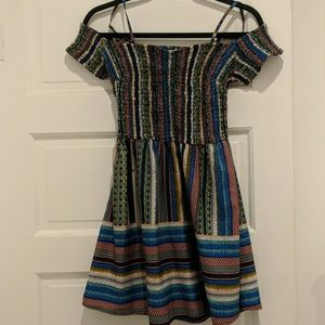 Band of Gypsies off the shoulder mini dress size S